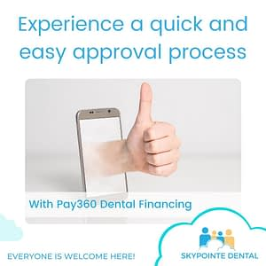 Experience a quick and easy dental financing approval process