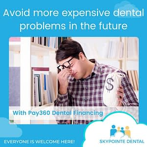 Avoid more expensive dental problems in the future with dental financing