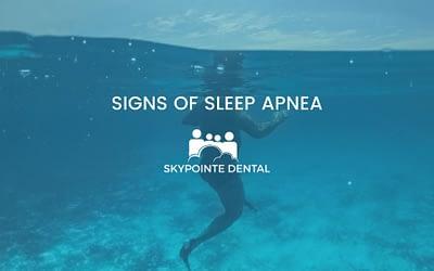 What Are the Signs of Sleep Apnea? Calgary dentist Explains